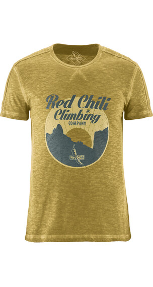 Red Chili Loon t-shirt geel